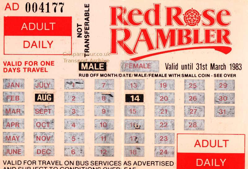 Rambling around the Red RoseCounty