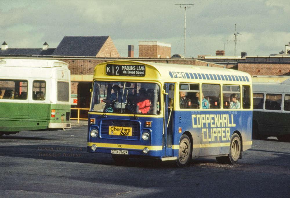 Crewe's Coppenhall Clipper